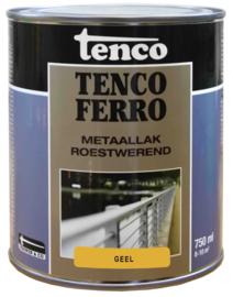 Tenco Ferro Metaallak Roestwerend Zijdeglans Geel 750 ml