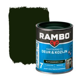 Rambo Pantserbeits Deur en Kozijn Dekkend Zijdeglans Rijtuigengroen 1127 750 ml
