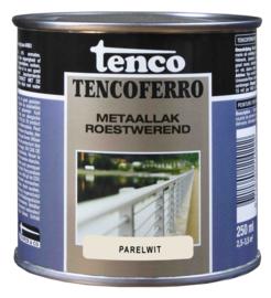 Tenco Ferro Metaallak Roestwerend Zijdeglans Parelwit 250 ml
