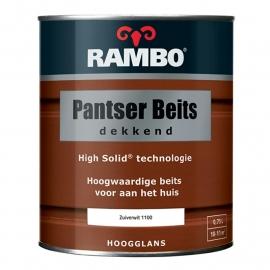 Rambo Pantserbeits Hoogglans Dekkend Zuiverwit 1100 750 ml