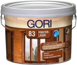 Gori 83 Fenster-Lak 7804 Burma Teak 2,5 Liter