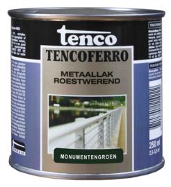 Tenco Ferro Metaallak Roestwerend Zijdeglans Monumentengroen 250 ml