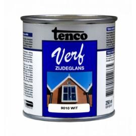 Tenco Verf Zijdeglans Wit 9010 250 ml