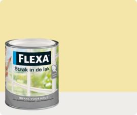 Flexa Strak In De Lak Hoogglans 1022 Zachtgeel 750ml