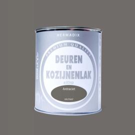 Hermadix  Deuren en Kozijnenlak Antraciet 750 ml