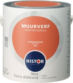 Histor Perfect Finish Muurverf Mat  Verbondenheid 6938 2,5 Liter