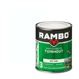 Rambo Pantserbeits Tuinhout Dekkend Wit 1100 750 ml