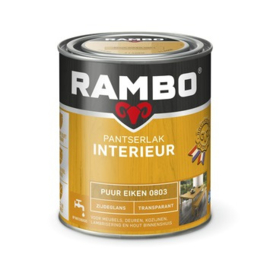 Rambo Pantserlak Interieur Puur Eiken 0803 ZIJDEGLANS 750 ml