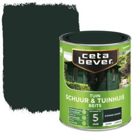 Cetabever Schuur & Tuinhuis Beits ZG Donkergroen 750 ml