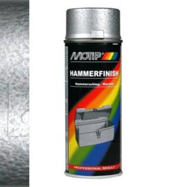 Motip Hamerslag Lak Zilver (04013) 400 ml