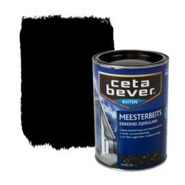 Cetabever Meesterbeits UV Dekkend Zijdeglans Zwart 250 1,25 Liter