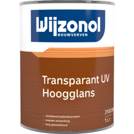 Wijzonol Transparant UV Hoogglans 1 Liter