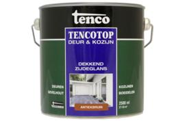 Tencotop Deur & Kozijn Dekkend Zijdeglans Antiekbruin 2,5 Liter