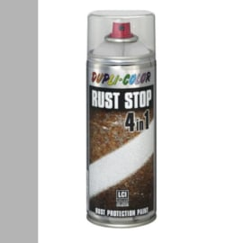 Dupli Color Rust Stop 4 in 1 Effects Aluminium Lichtgrijs 400 ml