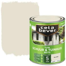 Cetabever Schuur & Tuinhuis Beits ZG RAL 9001 750 ml