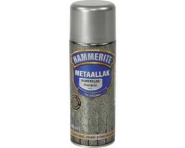 Hammerite Metaallak Hamerslag H115 Zilvergrijs Spuitbus 400 ml