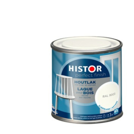 Histor Perfect Finish Houtlak Zijdeglans RAL 9003 250 ml