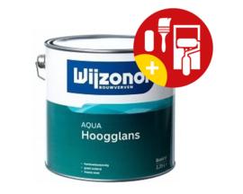 Wijzonol Aqua Hoogglans 2,5 Liter