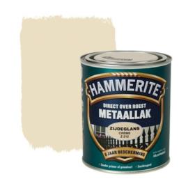 Hammerite Metaallak Zijdeglans  Creme Z212 750 ml