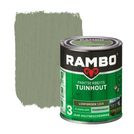 Rambo Pantserbeits Tuinhout Transparant Loofgroen 1215 750 ml