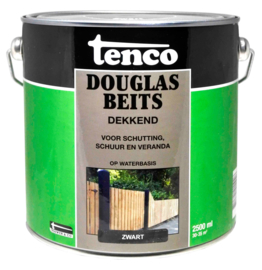 Tenco Douglas Beits Dekkend Zwart 2,5 liter