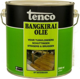 Tenco Bangkirai Olie Naturel 2,5 Liter
