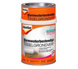 Alabastine Warmwaterbestendige Tegelgrondverf 2K Wit 750 ml