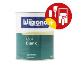 Wijzonol Aqua Blank Zijdeglans 1 Liter