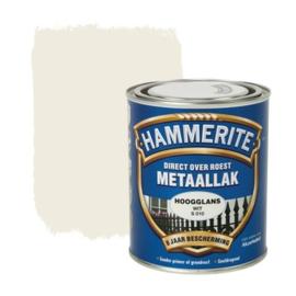 Hammerite Metaallak Wit S010 Hoogglans 750 ml