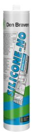 Zwaluw Silicone-NO Wit 310 ml