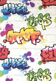 Rasch Graffiti Behang 272901