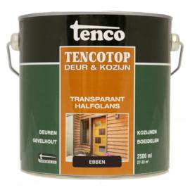 Tencotop Deur & Kozijn Transparant Halfglans Ebben 2,5 Liter