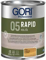 Gori 05 Rapid Holz-ÖL Kleurloos 750 ml