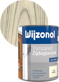 Wijzonol Transparant Zijdeglans 3155 White Wash 750 ml
