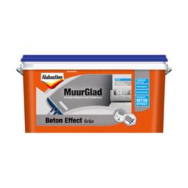 Alabastine MuurGlad Beton Effect Grijs 5 Liter