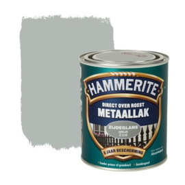 Hammerite Metaallak Zijdeglans  Grijs Z218 750 ml