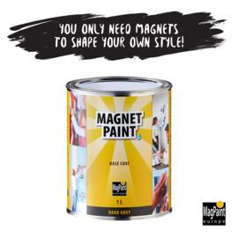 Magpaint Magneetverf  Donkergrijs 500 ml