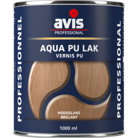 Avis Aqua PU Lak Hoogglans 250 ml
