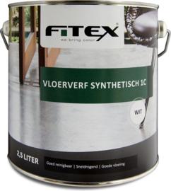 Fitex Vloerverf Synthetisch 1C 2,5 Liter