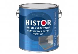 Histor Beton-/Vloerverf Donkergrijs 2,5 Liter