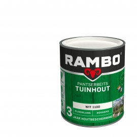 Rambo Pantserbeits Tuinhout wit 1100 750 ml