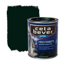 Cetabever Meesterbeits UV Dekkend Zijdeglans 605 Donkergroen 750 ml