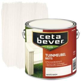 CetaBever Tuinmeubelbets White Wash 2,5 Liter