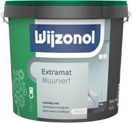 Wijzonol Muurverf Extramat  Bio 5 Liter