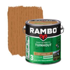 Rambo Pantserbeits Tuinhout Transparant Licht Eiken 1202 2,5 L