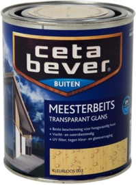Cetabever Meesterbeits UV Glans Transparant Kleurloos 003 750 ml