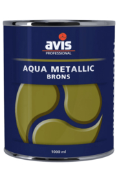 Avis Aqua Metallic Brons 125 ml