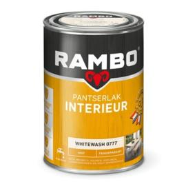 Rambo Pantserlak Interieur Whitewash 0777 MAT 1,25 Liter