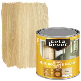 CetaBever Deur-, Kozijn- en Meubelbeits Blank Hoogglans 250 ml