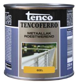 Tenco Ferro Metaallak Roestwerend Zijdeglans Geel 250 ml